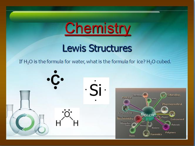 lewis structures chemistry lesson teach with fergy
