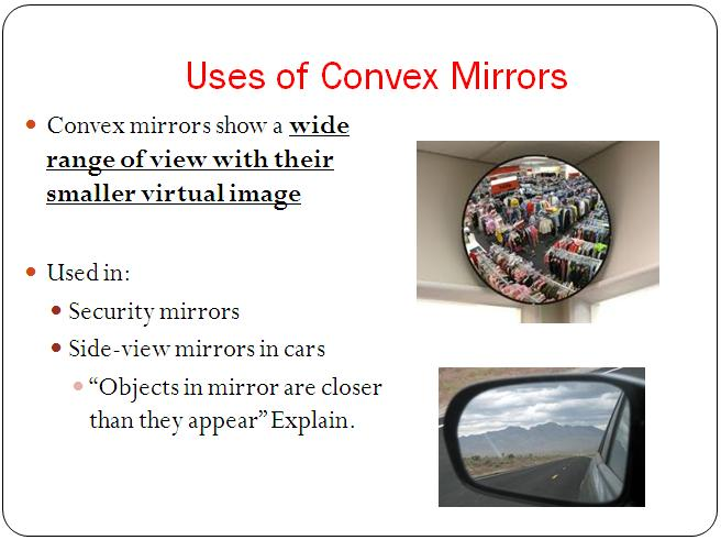 uses of convex
