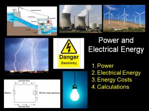 L3 Electricity 1