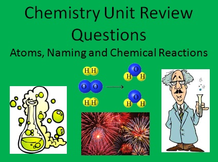 Chem Review Questions 1