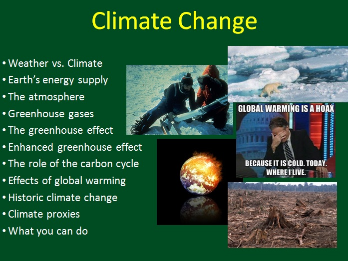 Climate Change 1