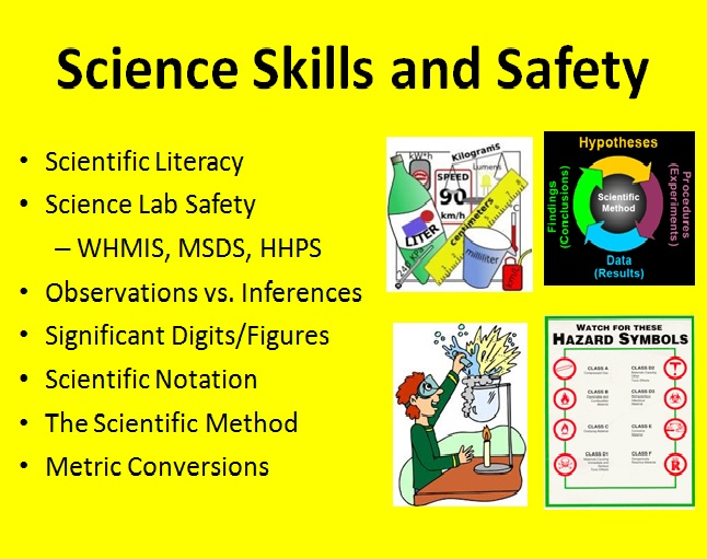 Skills and Safety 1