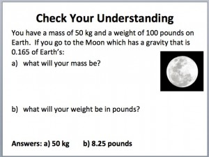 Mass Weight 3