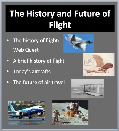 The History and Future of Flight - Teach With Fergy