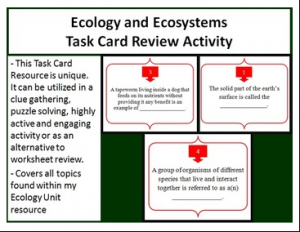 Day-By-Day Classroom Breakdown - Ecology and Ecosystems - Teach With