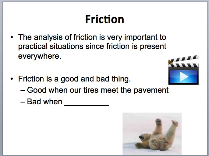 Friction Interactive Physics Lesson Package And Challege Lab