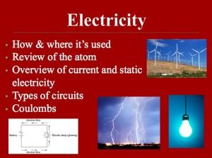 L 1 Electricity 1