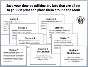 Lab Station Activities - Teach With Fergy
